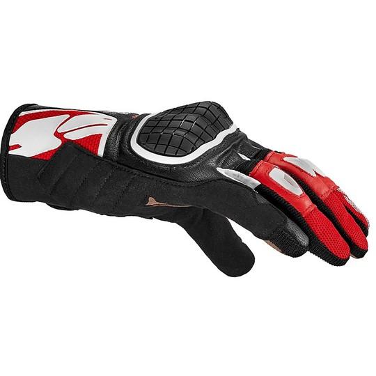 Gants Moto Spidi G-WARRIOR CE Tissu Noir Rouge