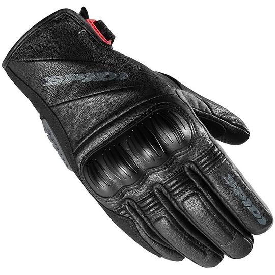Gants Moto Spidi RANGER LT Touring Leather Noir Gris