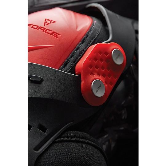 Genouillère Moto Cross Enduro Thor Force XP Rouge