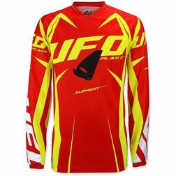 Ufo Jersey Vanguard weiß türkis orange Motocross MX Moto Cross Enduro Trikot