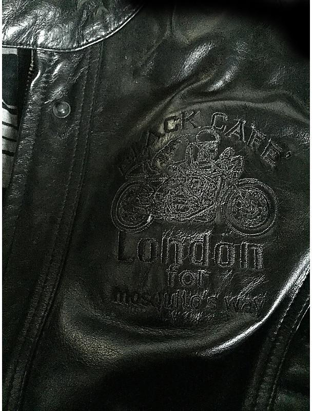BLACK-CAFE London Semnan da Donna Moto Giacca di pelle