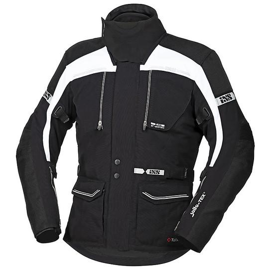 Giacca in tessuto da motociclista da uomo colore: nero IXS EVANS-ST Touring
