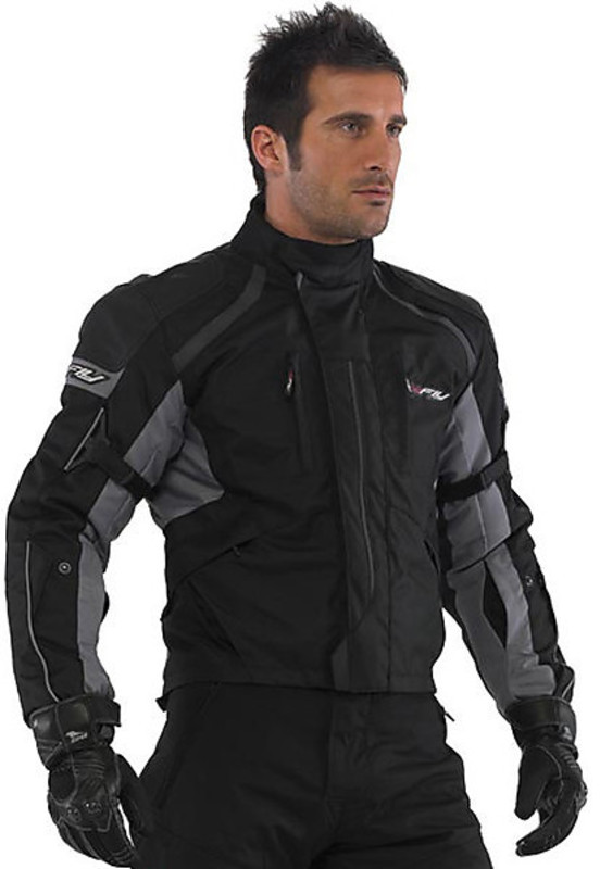 In Giacca 3 Estate Fly Moto Hy Strati Stealth Nero Inverno Tessuto ZqpZwx56r