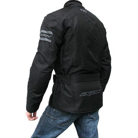 giacca moto tecnica inox tessuto colorado nero spyke