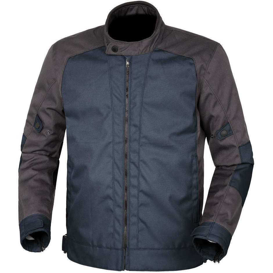 Gilet de moto en tissu certifié Urban Tucano 8187mf201 TEXWORK bleu foncé gris