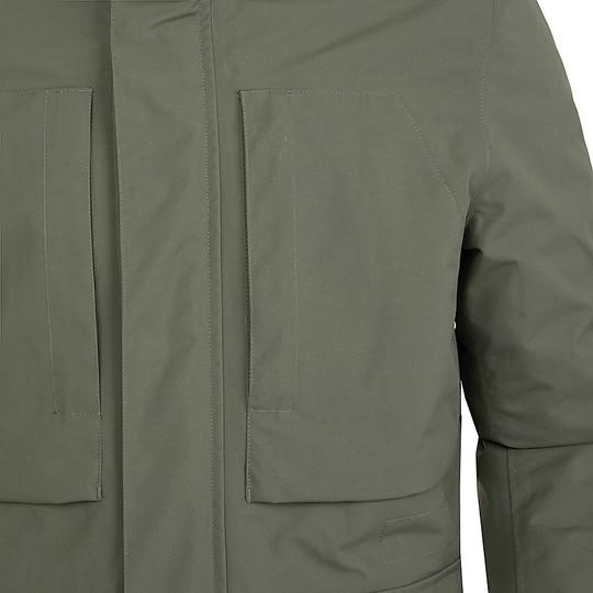 Gilet de moto en tissu certifié Urban Tucano 8191mf242 DUOMO vert militaire