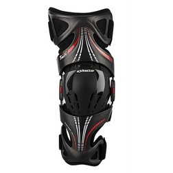 Ginocchiere Snodate Alpinestars Moto Cross Enduro FLUID TECH CARBON KNEE BRACE Destra Alpinestars