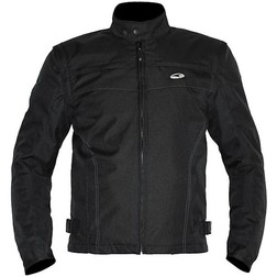 Giubboto fabric Axo Motorcycle Model NK1 Sfoderabibe Black Axo