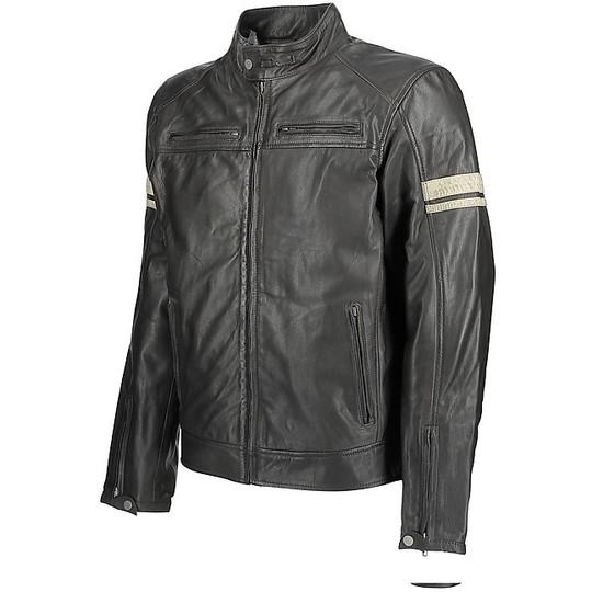 Giubbotto Moto In Pelle Donna OJ Mythos Lady Marrone