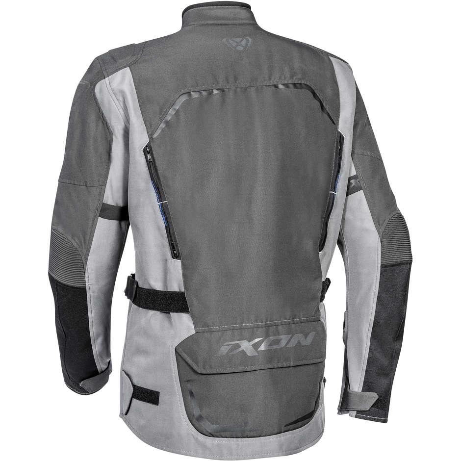 Giubbotto Moto Touring Ixon CROSSTOUR HP Antracite Grigio