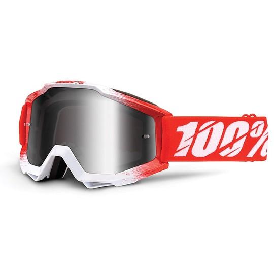 40/% Clear Lens Masque 100/% ACCURI Goggle AAA