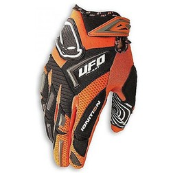 Guant Moto Cross Enduro Da Bambino Ufo Ignition Kid Arancio Ufo