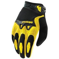 Guanti Moto Cross Enduro Thor Spectrum Gloves  2015 Giallo Suzuki Thor