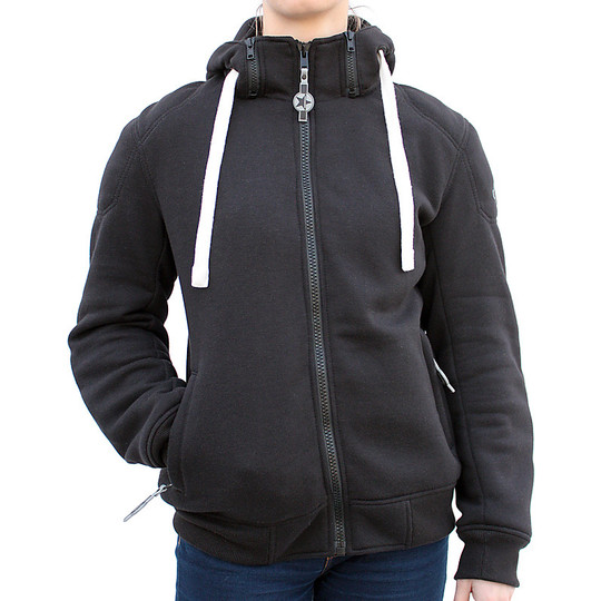 Harisson Sweater Patriot Lady Black Sweat Jacket