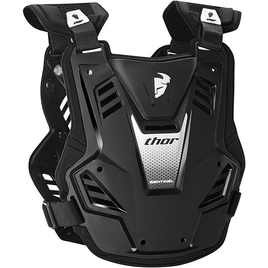 Harnais Cross Enduro moto Enfant Thor Sentinel GP Youth noir Blanc