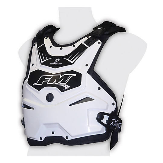 Harnais Moto Cross Enduro FM Racing Barracuda Blanc