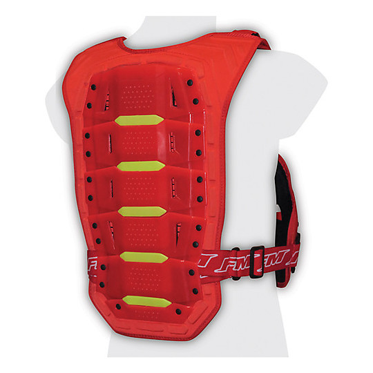 Harnais Moto Cross Enduro FM Racing Barracuda Rouge