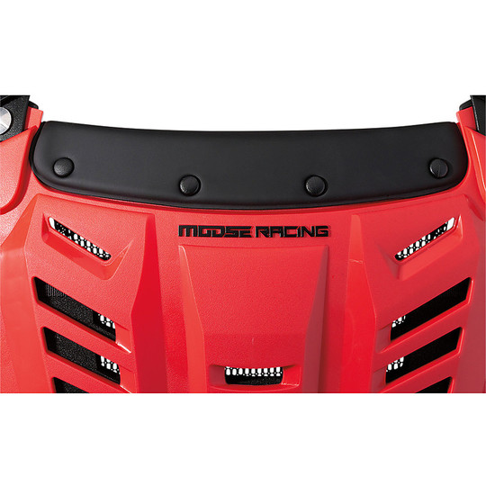 Harnais Moto Cross Enduro Moose Racing Synapse lite Pro Roost Red