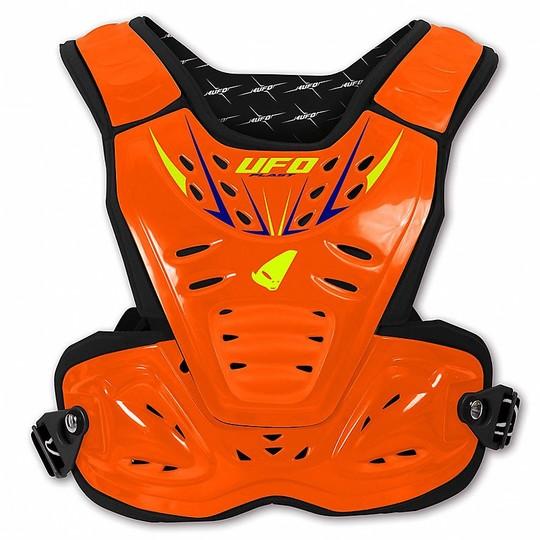 Harnais Moto Cross Euduro Enfant Ufo Reactor 2 Evolution Orange Neon