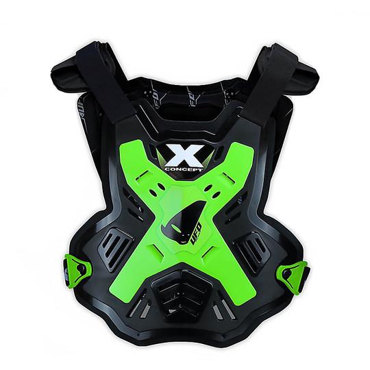 Harnais Moto Cross Euduro Ufo X-Concept Vert Noir Neon
