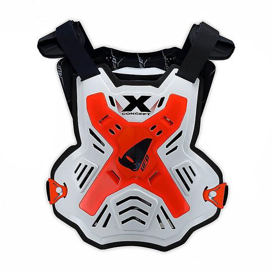 Harnais Moto Cross Euduro Ufo X-Concept White Neon Red