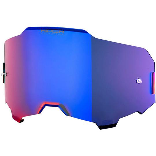 Hiper Lens Original Blue Mirror Pour Lunettes 100% Armega Ultra Hd