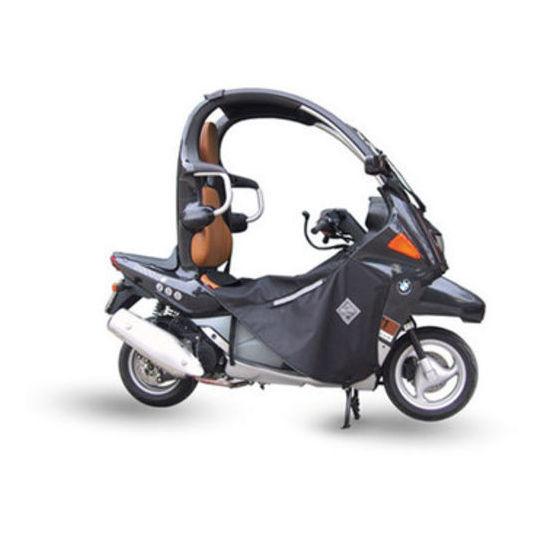 Housse de jambe Termoscudo pour scooter Tucano Urbano modèle Termoscud R034 pour BMW C1 125/200