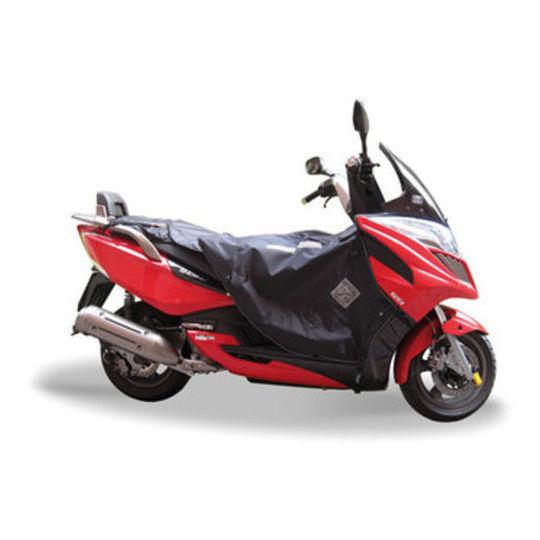 Housse de jambe Termoscudo pour scooter Tucano Urbano modèle Termoscud R087 pour kimko G-Dink 125/300
