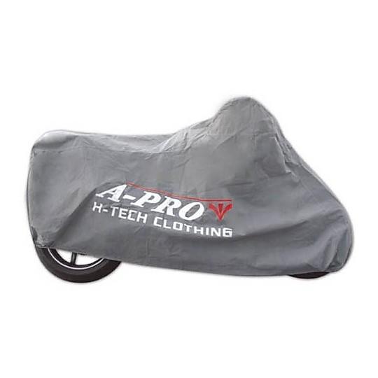 Housse de moto intérieure anti-poussière A-Pro SUNDUST Gris