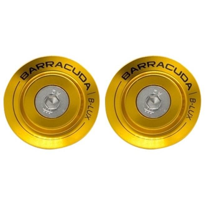 Inserto per Tamponi Paratelaio Barracuda In Alluminio Oro