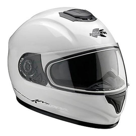Integra KAPPA KV21 Toledo Casque de moto Double White Single Visor