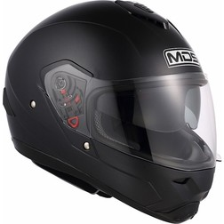 Integral Mds by Agv Motorcycle Helmet Matt Black Mono Fullsun Mds