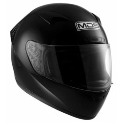 Integral Motorcycle Helmet AGV By Mds M13 Mono Gloss Black Mds