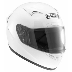 Integral Motorcycle Helmet AGV By Mds M13 Mono White Gloss Mds