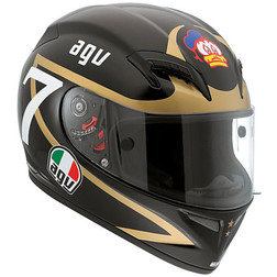 Integral Motorcycle Helmet Agv Grid Fiber Racing Raplica Barry Sheen Agv