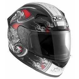 Integral Motorcycle Helmet AGV Mds By New Creature Red Sprinter Mds