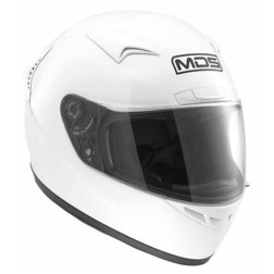 Integral Motorcycle Helmet AGV Mds By New Sprinter White Mds