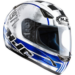 Integral Motorcycle Helmet HJC CS14 71 Check MC2 Hjc