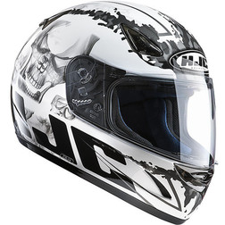 Integral Motorcycle Helmet HJC CS14 G.Skull MC10 Hjc