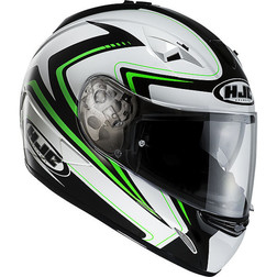 Integral Motorcycle Helmet HJC TR-1 Dual Visor Blade MC4 New in 2014 Hjc