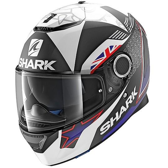 Casco de Moto Spartan 1.2 Blank BLK Shark