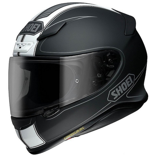 Integral motorcycle helmet SHOEI NXR Flagger TC5 matt black White