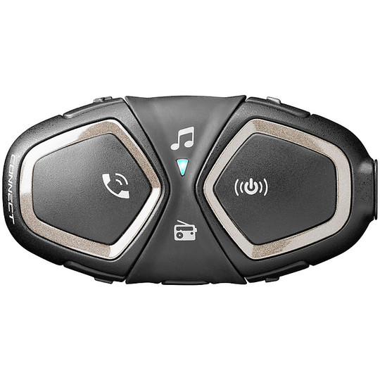 Intercom Single Motorcycle Bluetooth CellularLine CONNECT (conducteur / passager)