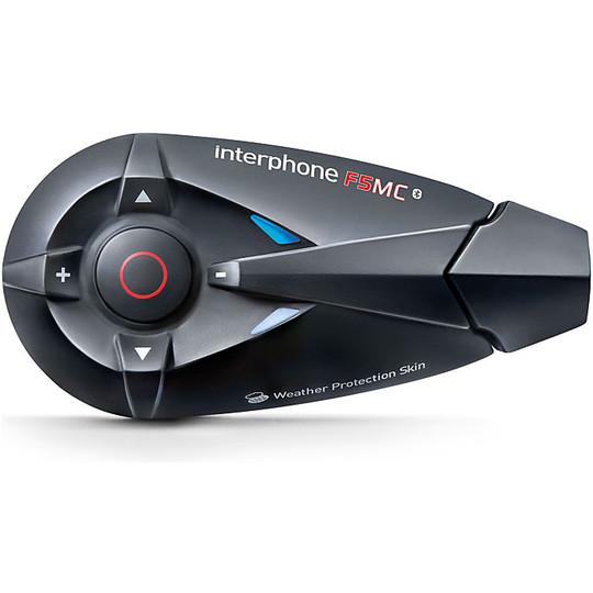Casco Moto Universale V5 Interfono Bluetooth Auricolare Sistema interfono Wireless con Kit Microfono Altoparlante Telecomando Keenso Interfono Bluetooth per Casco