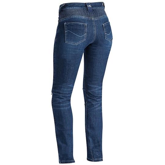 Ixon CATHELYN Pantalon moto bleu pour femme