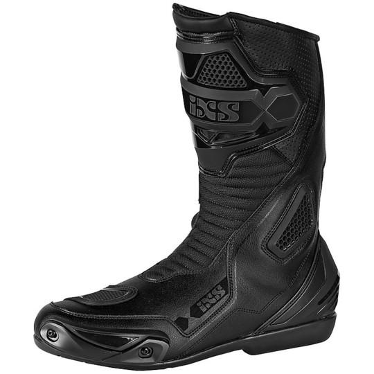 Ixs SPORT RS-100 Noir Bottes de moto de sport de rue