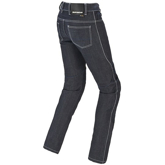 Jeans Femme Pantalon Moto Spidi FURIOUS PRO Lady Bleu Noir