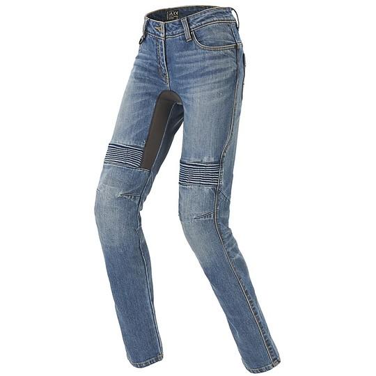 Jeans Femme Pantalon Moto Spidi FURIOUS PRO Lady Bleu Occasion Medium