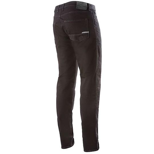 Jeans Moto Pantalon Alpinestars COPPER v2 Denim Black Rinse