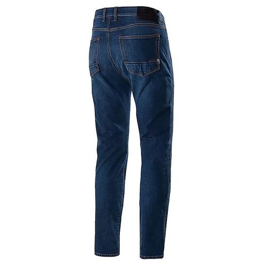 Jeans Moto Pantalon Alpinestars COPPER v2 Mid Tone Plus Bleu